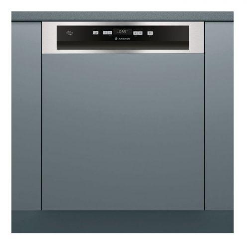 Ariston Built In Dishwasher 60 cm 14 Persons 7 Programs Silver LIC 3C26 F UK