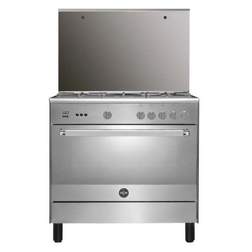La Germania Freestanding Cooker 90 x 60 cm 5 Gas Burners with Fan Full Safety 9C10GLA1X4AWW