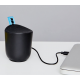 JAM Compact Bluetooth Speaker 100 ft Range Waterproof Playtime 8 Hour Grey HX-P202BK