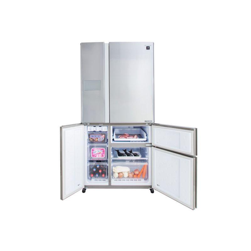 Sharp Refrigerator Inverter Digital No Frost 660 Liter 5 Doors Stainless Sj