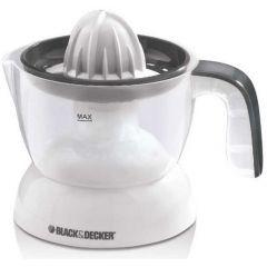 Black & Decker Citrus Juicer 0.5 Litre 30 Watt White CJ200