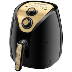 Black & Decker Air Fryer with Rapid Air Covection Technology 2.5 Liter 1500 W Black*Gold AF250G