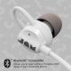 JAM Wireless Bluetooth Headphones 6 Hours of Playtime Grey HX-EP202GY