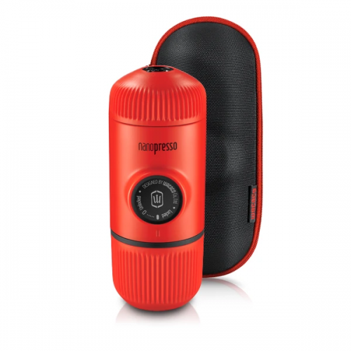 WACACO Nanopresso Ground Machine Lava Red with Case W-4897066230351