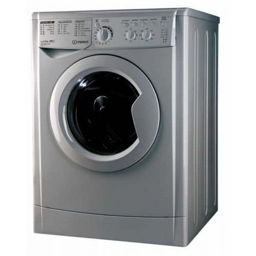 Indesit Washing Machine 6 kg Silver 1000 RPM EWC 61051 S EG