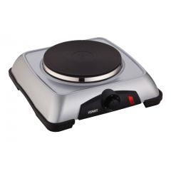 SMART Single Electric Hot Plate 1000 Watt Silver SHP010T