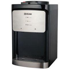 جراند مبرد مياه ديسك توب 2 حنفية بارد/ساخن امان في مفتاح الساخن لون أسود*سيلفر WDQ-556-T