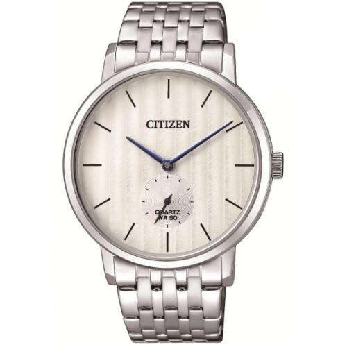 Citizen Stainless Steel Round Analog Watch for Men BE9170-56A