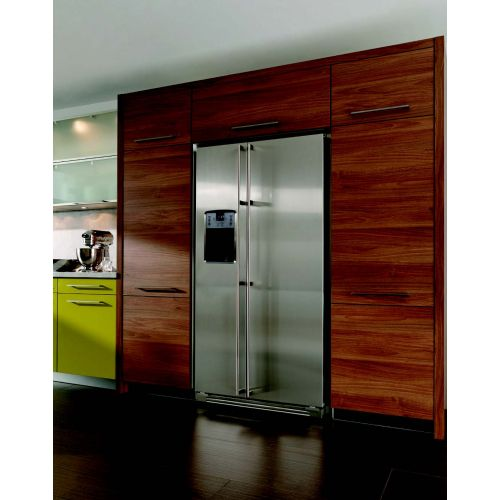KLUGMANN Refrigerator 643L NoFrost with Water Dispenser and Ice Maker Stainless Steel 90 cm KAF643WDI