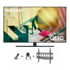 "Samsung TV 55"" QLED Ultra HD 4K Smart 40 Watt Sound Built-in Receiver 55Q70T"