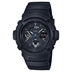 CASIO G-SHOCK Men's Watch Resin Band Water Resistant Black AW-591BB-1ADR