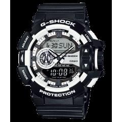 CASIO G-SHOCK Men's Watch Resin Band Digital Water Resistant Black GA-400-1ADR