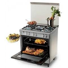 KIRIAZI Gas oven 80*60 5 burner ST : 8600