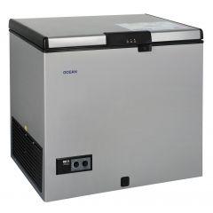 Ocean Freezer 217 Liter De-Frost Silver With Key NJ 31 TLLS A+ WFS
