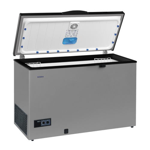 Ocean Freezer 363 Liter De-Frost It Works With No Frost Technology Silver With Key NJ 51 TLLS A+ WFS