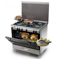 KIRIAZI Gas oven 90*60 5 burner ST : 9600 M