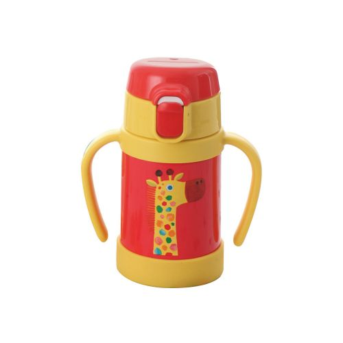 TIGER Stainless Steel Thermal Bottle 0.28 Litre Capacity Red*Yellow MCK-A280