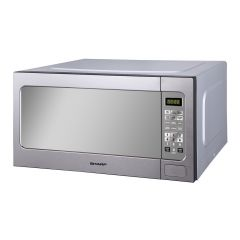 SHARP Microwave Solo 62 Litre 1200 Watt Silver R-562CR(ST)