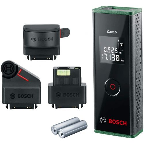 Bosch Digital Laser Measure 20m ZAMO 3 Set