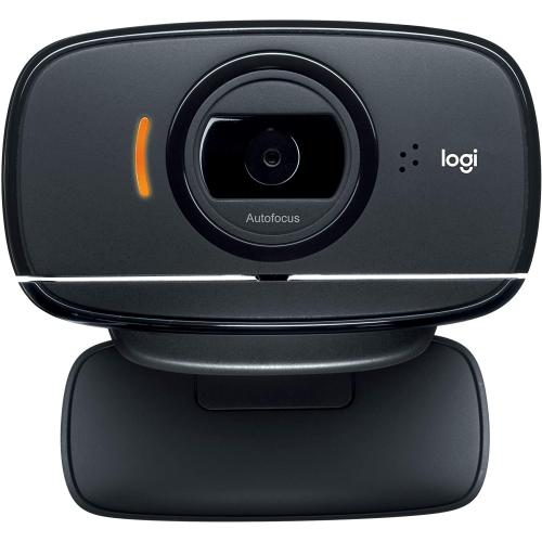 LOGITECH HD Webcam Portable HD 720p Video Calling with Autofocus Black C525