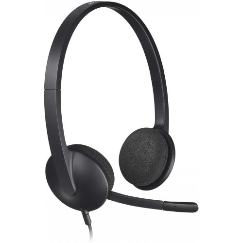 LOGITECH USB Computer Wired HEADSET H340
