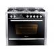 UnionAir Premium Icook Pro Plus 5 Burners 60*90 Without Grill PRM6090SS-2GC-511-IDSP