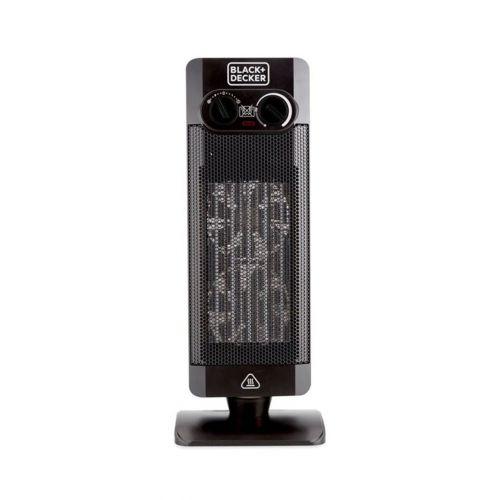 BLACK & DECKER Vertical Fan Heater 2000W Black HX340