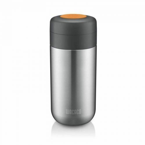 Wacaco Nanovessel for Nanopresso Insulated Flask Tumbler Water Tank 3 in 1 Silver W-4897066230276
