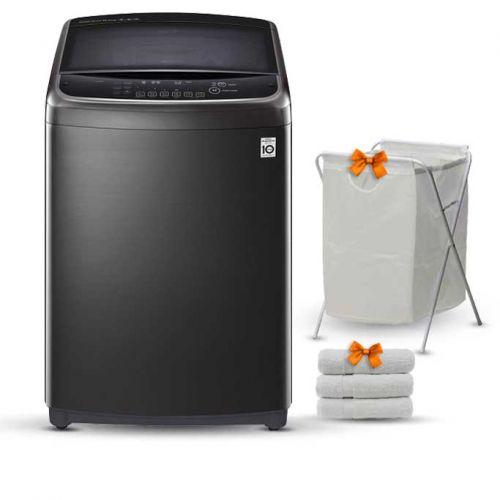 LG Washing Machine Topload 21 KG Direct Drive Steam with Heater T2193EFHSKL