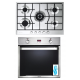 Elba Built-In Gas oven 60 cm and Gas Hob 60 cm 4 Burners ELIO 731