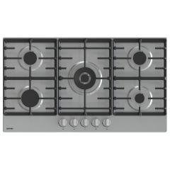 Gorenje Built-In Hob 90 cm 5 Gas Burners Cast Iron Stainless GW9C51X