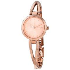 DKNY Crosswalk Women's Watch Stainless Steel Rose Gold NY2812