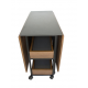 Artistico Modern Dining Table Brown AMDT150B