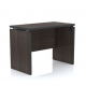 Artistico Office Desk 100*55*75 cm Without Drawers Dark Brown AD100-DB