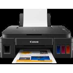 كانون طابعة للطباعة والنسخ والمسح الضوئي بالألوان PIXMA G2411