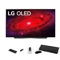 إل جي شاشة أو ليد 55 بوصة ألترا اتش دي سمارت3840*2160 بكسيل فور كيه TV OLED55CXPVA