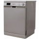 White Point Dishwasher 13 Set 6 Proramgs Silver WPD 136 HDS