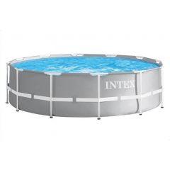 Intex Prism Frame Premium Pool Set 457*107 cm Grey IX-26724