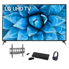 LG TV 70 Inch LED UHD 3840*2160p Smart Built-in Receiver 70UN7380PVC