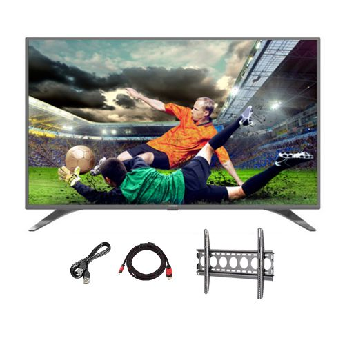 TORNADO Smart LED TV 43 Inch Full HD With Built-in Receiver, 2 HDMI and 2 USB Inputs 43ES9500E