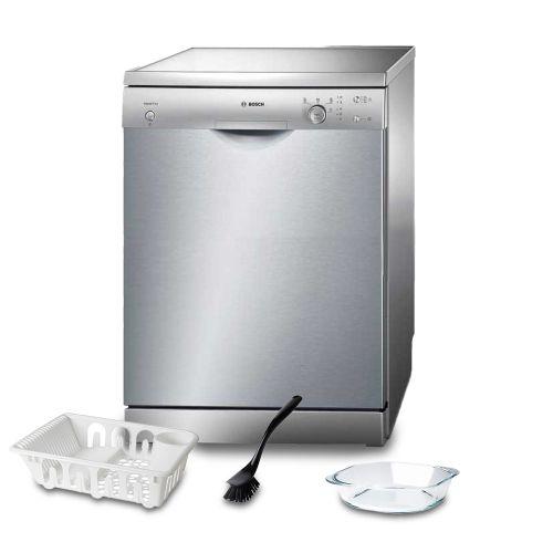 Bosch Dishwasher 12 Set Screen Silver: SMS40D18EU