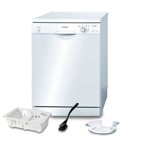 Bosch Dishwasher 12 Set AquaStop White: SMS40E32EU