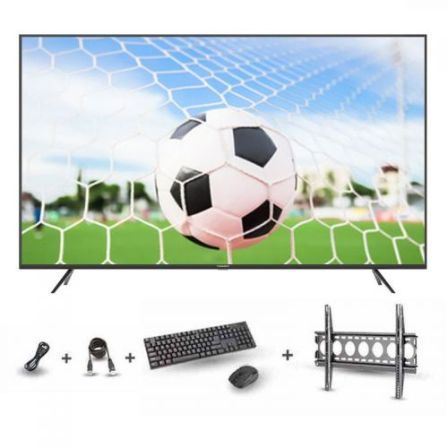 TORNADO 4K Smart LED TV 65 Inch With Built-In Receiver, 3 HDMI and 2 USB Inputs 65US9500E