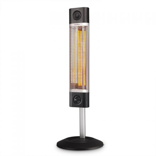 VEITO Freestanding Heater 1700 Watt with Built-in Carry Handle Black CH1800 XE