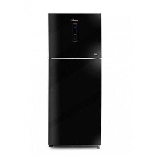 UnionAire Refrigerator Premium 14 Feet 350 Liter No Frost Digital Glass Black PRM-350BEGNA-C10
