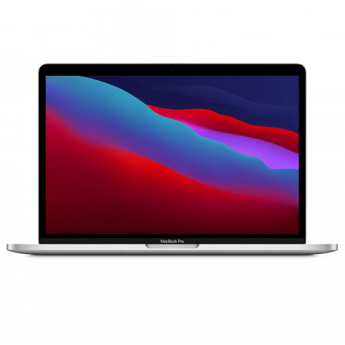 Apple MacBook Pro 13 inch M1 chip with 8‑core CPU and 8‑core GPU,8GB,256GB SSD Silver MYDA2AB/A
