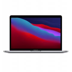 Apple MacBook Pro 13 inch M1 chip with 8‑core CPU and 8‑core GPU,8GB,512GB SSD Space Grey MYD92AB/A