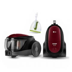 LG Vacuum Cleaner 2000 Watt 1.5 Liter Bagless Red VC5320NNTR