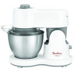 Moulinex Kitchen Machine Masterchef Compact - 700W, 3.5L, Blender, 3 Drums QA205110