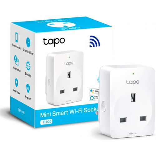 TP-Link Mini Smart Wi-Fi Socket with Timer and Voice Control Tapo P100